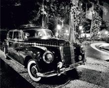 Classy car fototapet AG Design teenagere