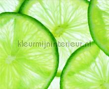 Green limes photomural AG Design Photoprints-wall-collection
