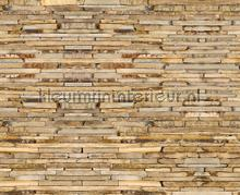 Stone wall fotobehang AG Design Modern Abstract
