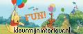 Winnie the Pooh and friends Kinderkamer
