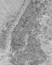 nyc map fotomurales Komar Pure p033-vd2