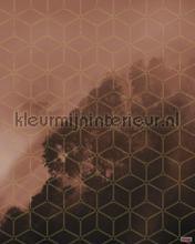 golden grid fototapet Komar Pure psh099-vd2