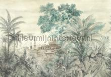 Taj mahal fotobehang Coordonne jungle
