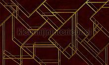 L. Geometric wine fototapeten Coordonne Random Papers 2 6800208