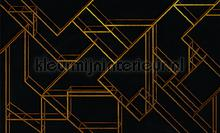 L. Geometric black fotomurales Coordonne Random Papers 2 6800209