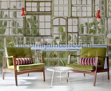 Window flora fotobehang Coordonne Bloemen Planten