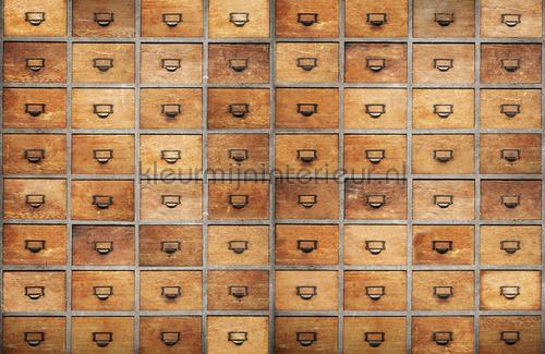 Drawers papier murales 6800508 Moderne - Résumé Coordonne
