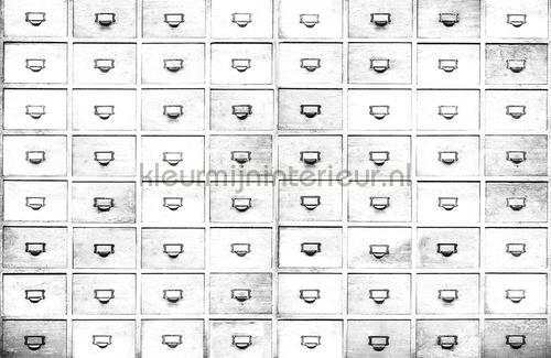 Drawers papier murales 6800509 Moderne - Résumé Coordonne