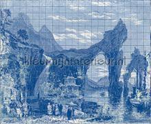 Illustration Tiles papier murales Coordonne structures