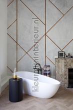 Golden Line Wall fotobehang Coordonne Modern Abstract