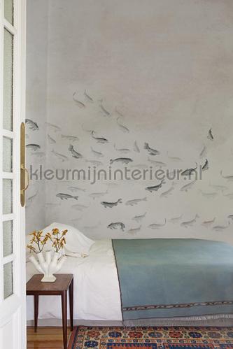 koi light papier murales 6800723 Moderne - Résumé Coordonne