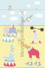 The circus is in town fotobehang carta da parati Eijffinger Rice 359173