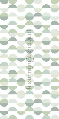 Halve cirkel retromotief photomural 152-158904 Graphic - Abstract Esta home