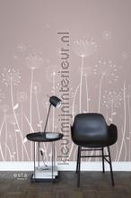 Paardebloem silhouetten fottobehaang 152-158905 Bluumkes - Plante Esta home