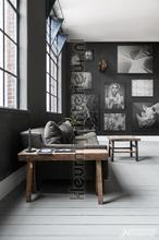 Black out photomural Noordwand Mural room set photo's