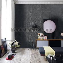 Unrefined photomural Noordwand Mural room set photo's