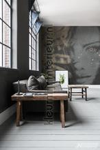 Purity photomural Noordwand Mural room set photo's