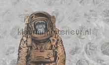 space monkey fotobehang Noordwand Vanilla Lime 014212