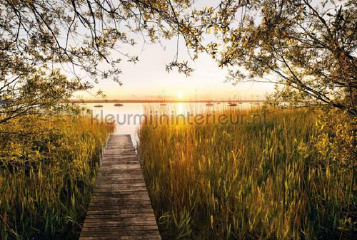 Lakeside fotobehang XXL4-052 Vlies collectie Komar