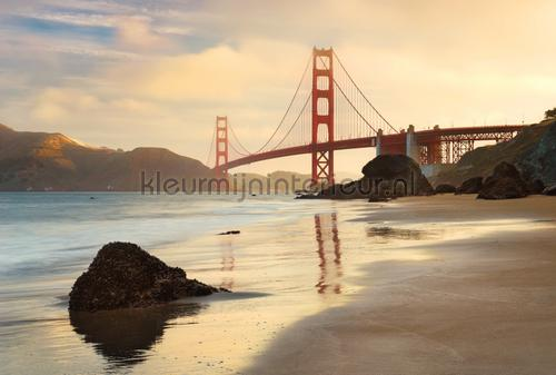 Golden Gate fototapet XXL4-054 Flees collection Komar