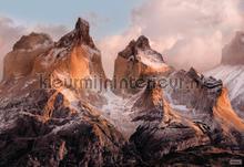Torres del paine fototapet Komar verdenskort