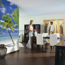 Ari atoll fotobehang Komar Zon Zee Strand