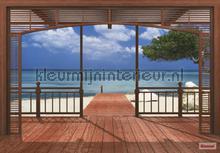 El paradiso fotobehang Komar Zon Zee Strand