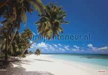 Maldives fotobehang Komar Zon Zee Strand