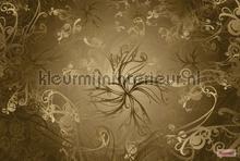 Gold papier murales Komar PiP studio wallpaper