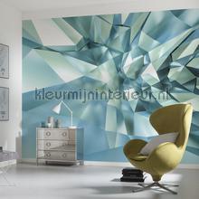 3d crystal cave papier murales Komar PiP studio wallpaper