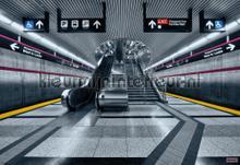 Subway photomural Komar world maps
