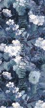 lena indigo Links wallcovering Khroma Wall Design dglen1021