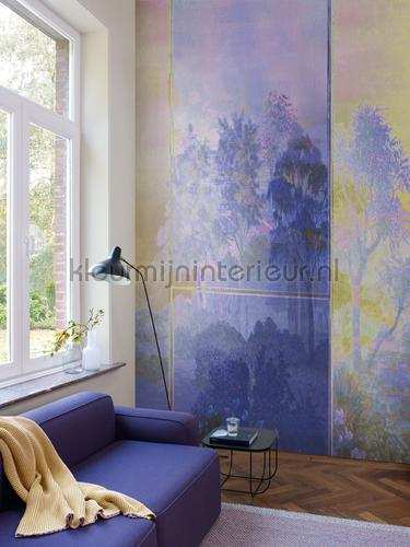 saba purple fotomurais dgsab1021-1022 Moderno - Abstrato Khroma