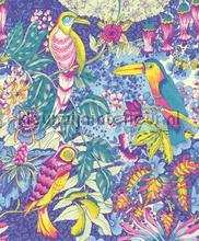 Wallpower Junior Birds in Paradise Blue fotomurali Eijffinger sport
