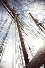 Wallpower Junior The Mast fotobehang Eijffinger Piraten