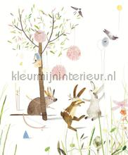 Wallpower Junior Party Bunnies papier murales 364160 fotomural Top 15 Eijffinger