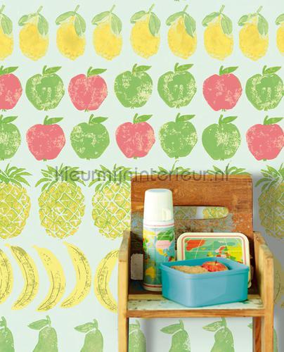 Wallpower Junior Fruity Green fotomurali 364192 Eijffinger