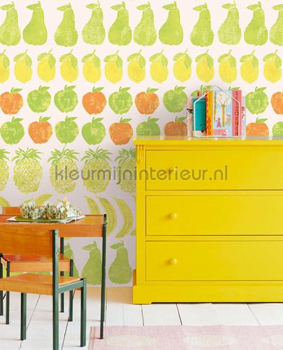Wallpower Junior Fruity Peach fotomurali 364193 Eijffinger
