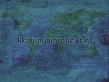 Wallpower Junior Weathered Map photomural Eijffinger Wallpower Junior 364195