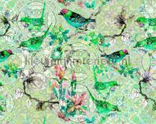 Mosaic birds 1 photomural AS Creation Walls by Patel dd110246