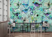 Mosaic birds 3 fotobehang AS Creation Trendy Hip