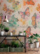 Mosaic Butter f2 fotobehang AS Creation Trendy Hip
