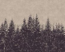 Black forest 1 fotobehang AS Creation Trendy Hip