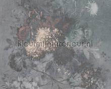 Bouquet gris 1 fotobehang AS Creation Kunst Ambiance
