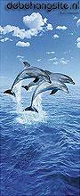 3 dolphins fototapeten Ideal Decor sonderangebote fototapeten