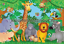 fotobehang jungle