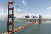 golden gate fotobehang Noordwand Evolutions II 1173