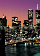 Manhattan small fotobehang Ideal Decor Ideal-Decor Poster 331