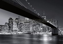 Brooklyn Bridge NY photomural Ideal Decor Ideal-Decor Poster 140