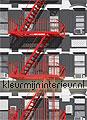 Fire escape papier murales Ideal Decor offre